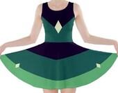 Peridot Steven Universe inspired dress