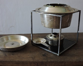 Antiques, stove to stove, bourguignonne, bourguignonne, silverplate, sterling silver, vintage stove, silverplated, antique silver