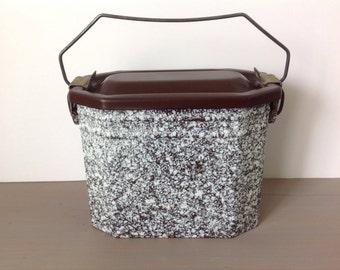 Vintage box Fricot / lunchbox / enamel lunchbox / lunch box