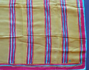 "Vintage Vera Neumann Scarf ~ 22"" x 22"" ~ Silk ~ Item # 8"