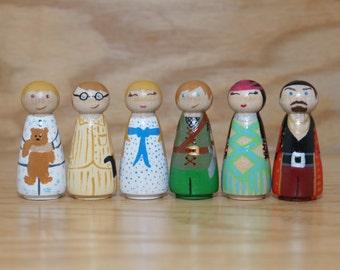 Peter Pan Peg Dolls