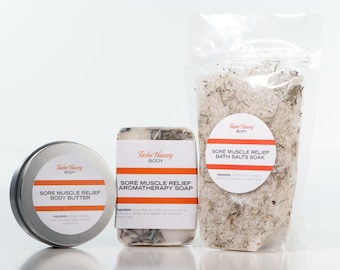 Sore Muscle Relief Gift Set