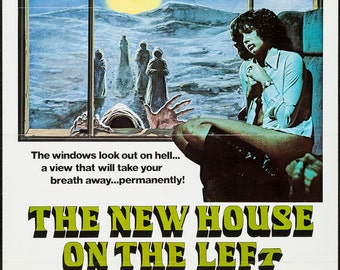The New House On The Left, 1976 Original Release Poster