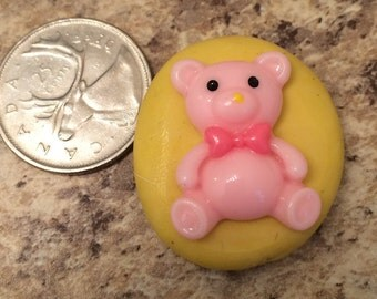 Small Teddy Bear Mold Silicone