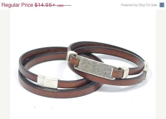 couples bracelets men leather bracelet couples by cozydetailz