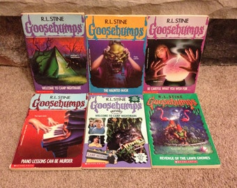 1990's Goosebumps R.L. Stine Books Lot Of 24 Books Fear Street # 55 49 45 41 39+
