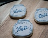 Mason Jar cookies - Ball Mason Jar cookies - One Dozen