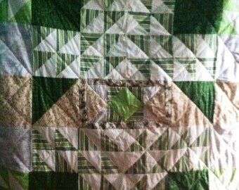Directional quilt custom made to order