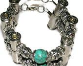 Custom bullet bracelet ©2008 to 2015 Josette Redwolf