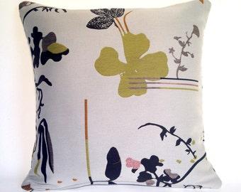 Cushion in Maharam Eden fabric by Hella Jongerius