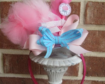 Cotton Candy headpiece add on
