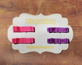 Hair Clips set of 4