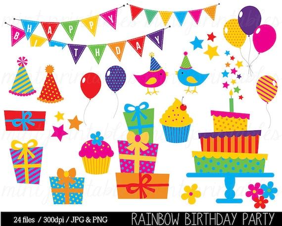 Birthday Clipart Birthday Clip art Bunting Clipart Birthday