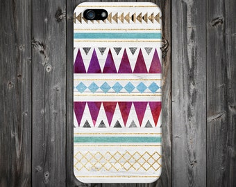 Gold x Wood x Teal x Maroon Tribal Design Case for iPhone 8 6 Plus iPhone X  Samsung Galaxy s8 edge s6 and Note 8  S8 Plus Phone Case