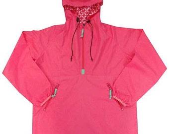 Monogrammed Youth Rain Jacket,Personalized Rain Coat,Kids Outerwear,Outerwear,Rain Gear,Kids Pullover,Youth Rain Pullover,Game Day,Pullover