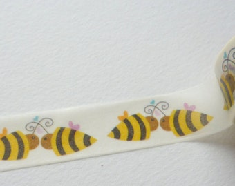 Sweet Bees Washi Tape 15mm x 10m