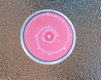 Roses Shield Button