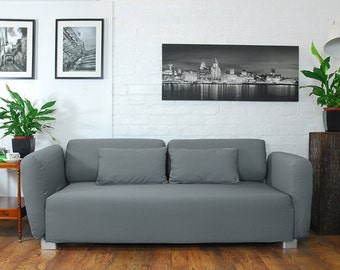 Slip cover to fit the ikea Mysinge 2 seat sofa GREY