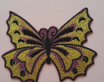 Iron on butterfly patch Iron on butterfly applique Butterfly embroidery patch Butterfly embroidery appliqueApplique butterflyPatch butterfly