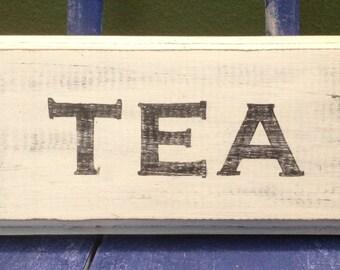 Vintage Looking Tea Sign