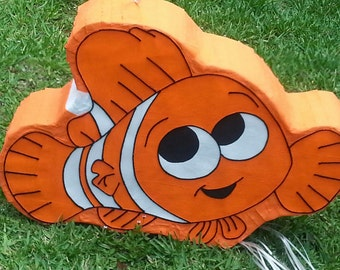 Amazing Clown fish nemo inspired piñata  party !!!!!