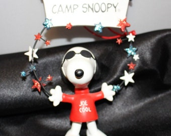 Camp Snoopy Joe Cool Christmas Ornament