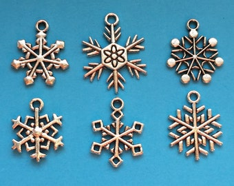 The Snowflake Charm Collection Ref CC023