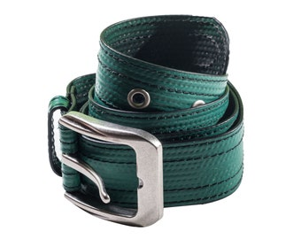 Beg, Borrow and Steal Belt in Green