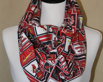 St Louis Cardinals Infinity Scarf