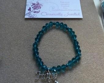 Scleroderma Awareness Bracelet