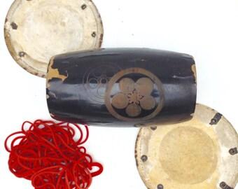 "Antique Japanese Drum ""Kakko"""
