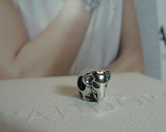 Authentic Pandora Lucky Elephant Charm/ New/791130