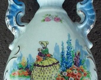 Antique Royal Fenton Vase Genuine Fenton Ware Staffordshire England Marked Home Decor