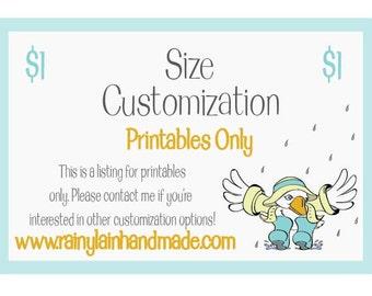 Size Customization