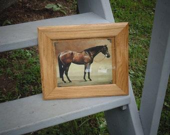 Solid Oak Picture Frame Art Frame