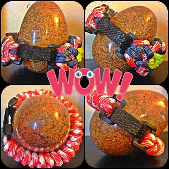 adjustable paracord bracelet hardware