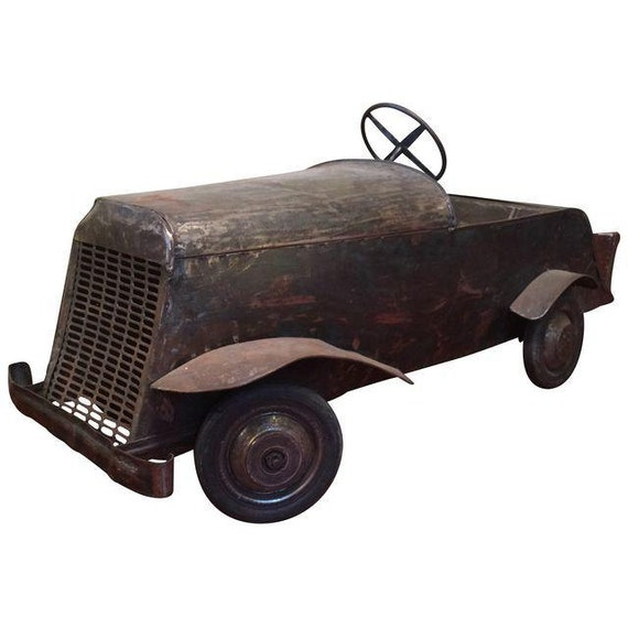 Vintage French Pedal Car
