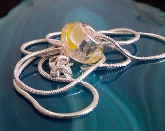 "3x Invoke Your Guardian Angel "" charm-necklace-bead"