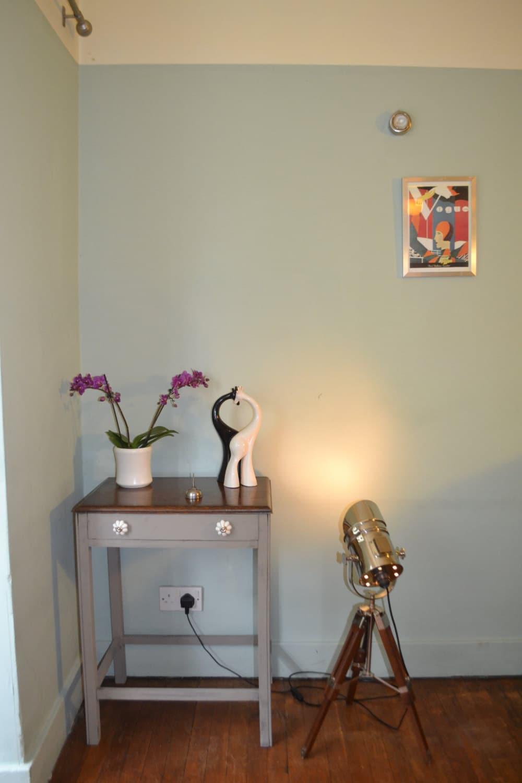 Shabby chic farmhouse oak console side table haute juice - Table haute console ...