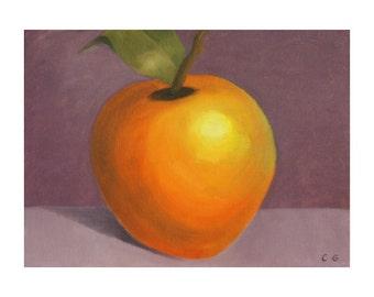 postcard 10 x 15 - La Pomme - envelope included