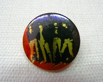 Vintage Early 80s Ramones Metal Pin / Button / Badge - NYC Punk Rock