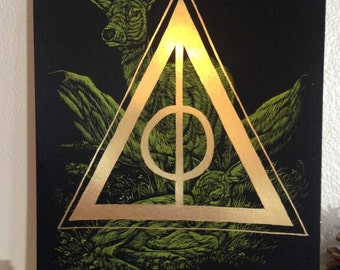 Harry Potter Deathly Hallows Fan Art