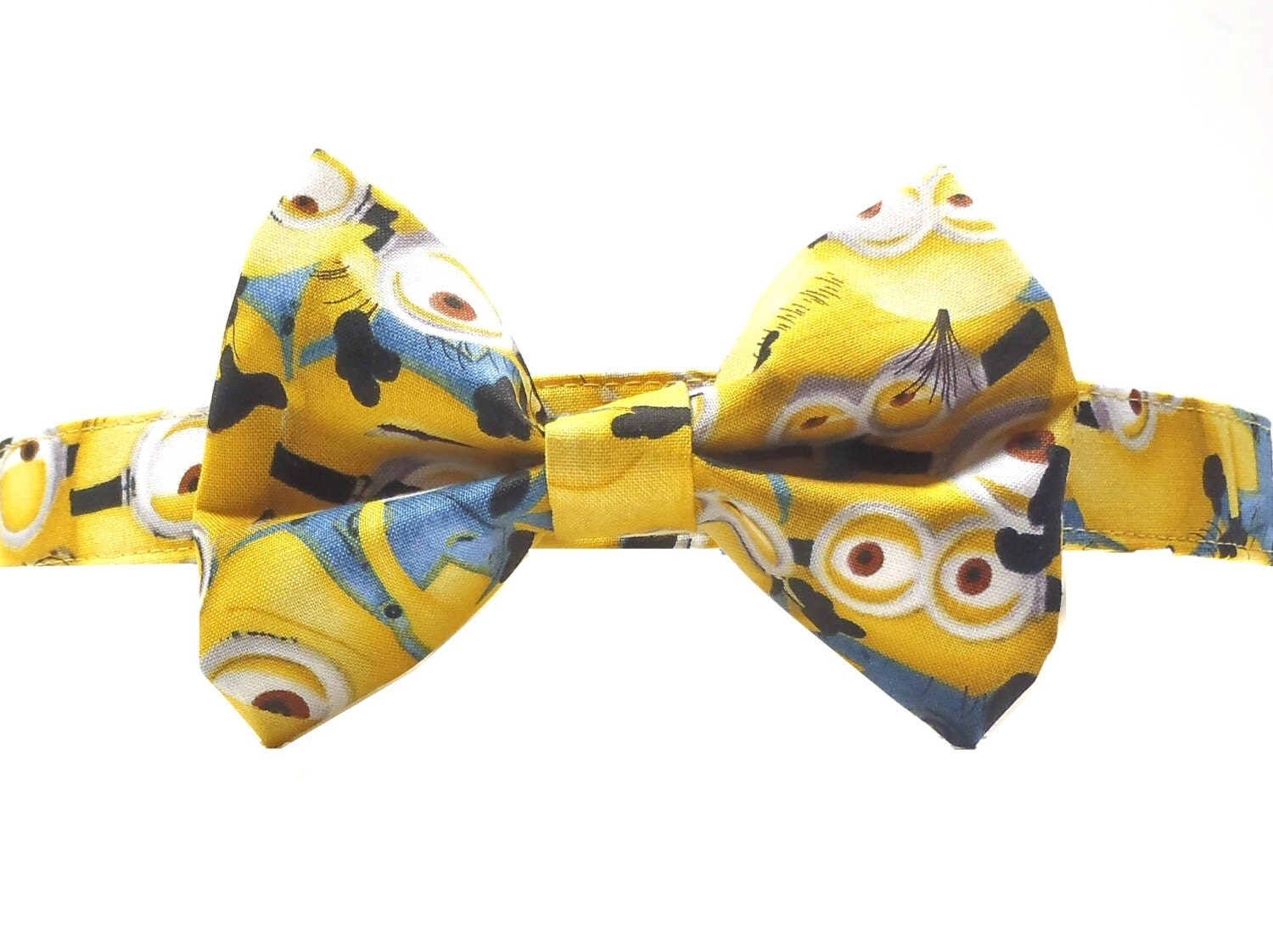 minion bow tie and collar set minion collar xs by