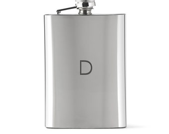Drinking Flask - Personalized Flask - Men's Flask - Ladies Flask - Classic Flask - Engraved Flask - Men's Gift - Unique Present - Gift