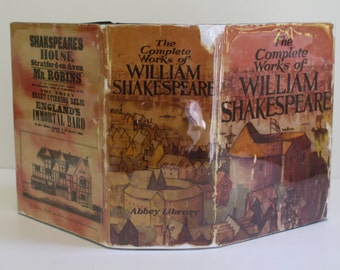 The Complete Works of William Shakespeare by William Shakespeare - Abbey Library/Murray Sales & Service ca 1964