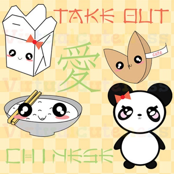 SHOP CLOSING SALE .99 Cent Clipart Chinese Food Clipart