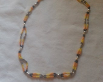 Double beaded necklace