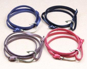 Miansai style genuine leather bracelet