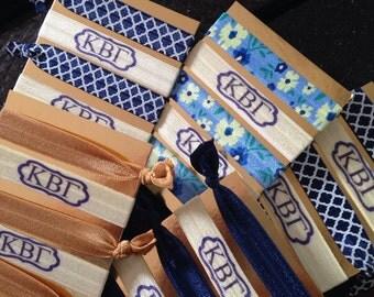 Kappa Beta Gamma hair tie grab bag