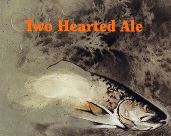 Bell's Two Hearted Ale Poster, India Pale Ale, IPA, Quality Beer